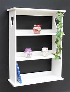 Regal Weiß Landhaus : wandregal mit herz 12013 regal 50 cm vintage shabby landhaus k chenregal weiss ebay ~ Orissabook.com Haus und Dekorationen