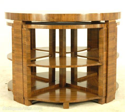 deco furniture dealers deco walnut nest of tables antiques atlas