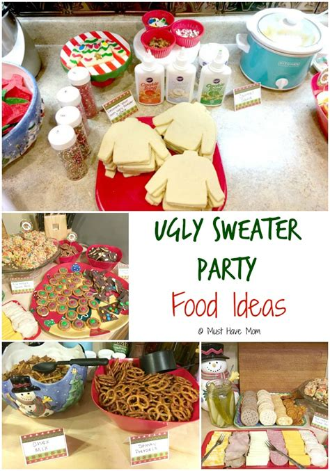 how to host an ugly christmas sweater party must have mom