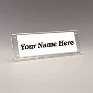 Office Desk Name Tag Template by Cubicle Name Plate Holders Plastic Products Mfg Buzz
