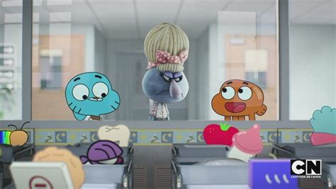 choking hazard gumball  cartoon network