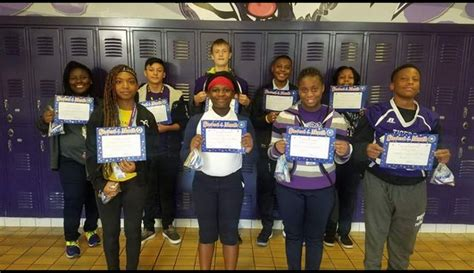 bessemer city middle school highlights september students month