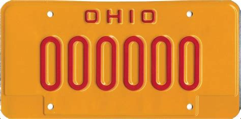 ohio issues bright yellow license plates  shame dui