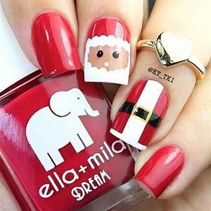 Best Christmas Nail Art Designs - Pink Lover
