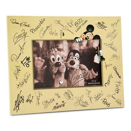 disney photo frame characters signature