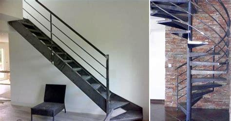 quelle finition pour un escalier en acier brut ehi