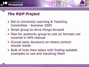 Referencing Rescue  Developing An Interactive Referencing