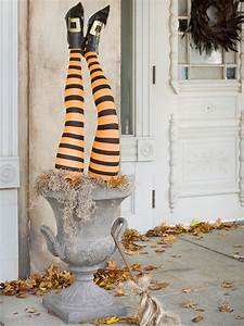 Witch, Outdoor, Halloween, Decorations