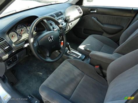 gray interior  honda civic  sedan photo