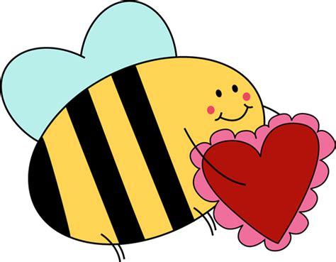 Valentine Heart Clip Art Bee