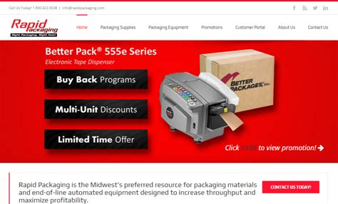 Rapid Packaging Unveils New Website For 40th Anniversary
