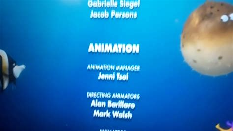 finding nemo 2003 end credits itv 2019 youtube
