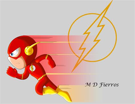 chibi flash  ironmatt  deviantart