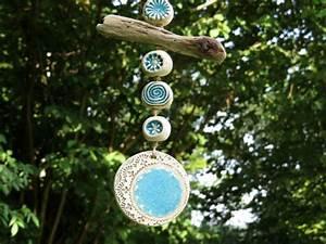 Keramik Für Den Garten : gartendekoration keramik garten windspiel mit treibholz garten deko ein designerst ck von ~ Bigdaddyawards.com Haus und Dekorationen
