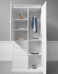 Kleiderschrank 2 Türig Weiß : sanders nora kleiderschrank 2 t rig in wei mit verzierungen ~ Eleganceandgraceweddings.com Haus und Dekorationen