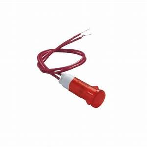 Red 10mm Panel Mount Indicator Light