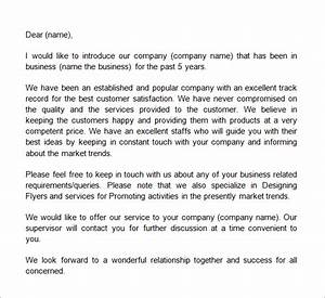 business introduction letter template pinteres With landscaping company introduction letter