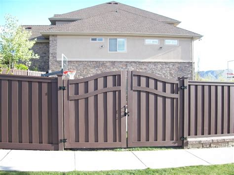 Decking Lowes by Trex Composite Fencing Gallery Utahfence Com