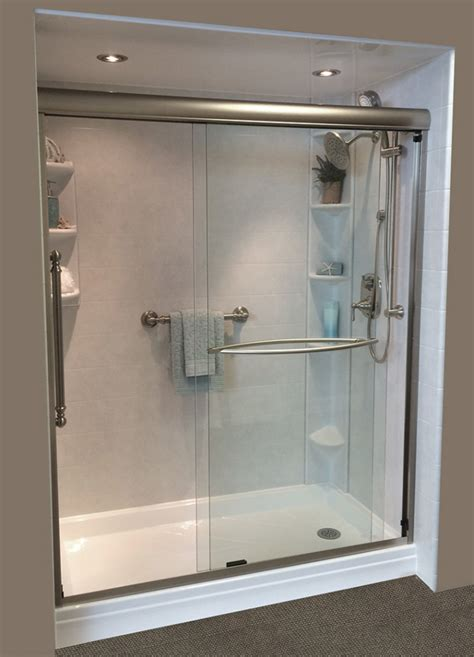 In Shower by Tub To Shower Conversion Ft Lauderdale Fl Bath Crest