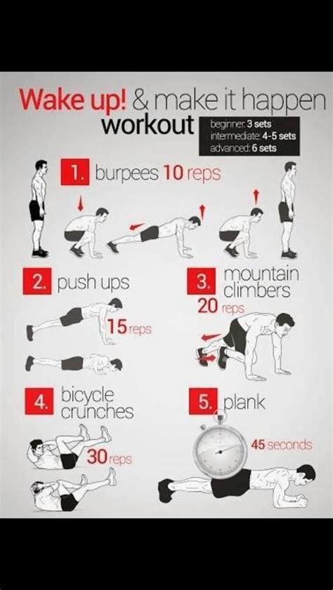 chaise musculation 25 workouts page 2 of 2 home workouts morning