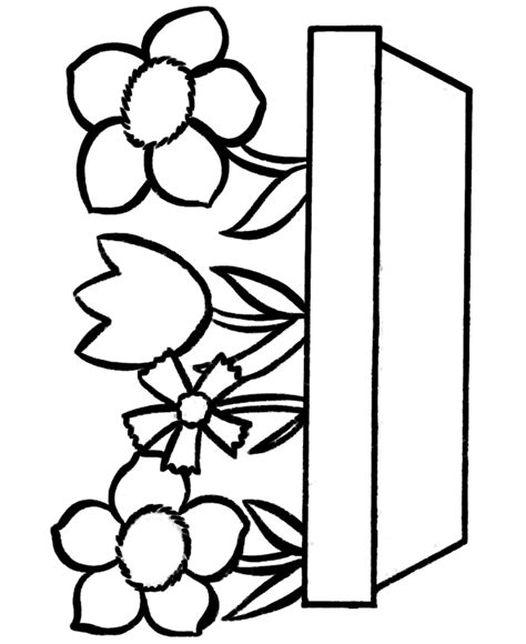 printable flower templates clipart