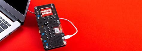 diy makerphone kit lets you build your own smartphone