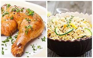 Cuisse De Poulet A La Poele : wecook cuisse de poulet courgettes et quinoa ~ Mglfilm.com Idées de Décoration