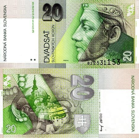 Roberts World Money Store and More - Slovakia Korun Banknotes