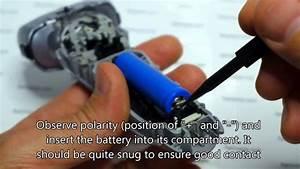 Panasonic Es Lt 41 Shaver Battery Replacement Repair Guide
