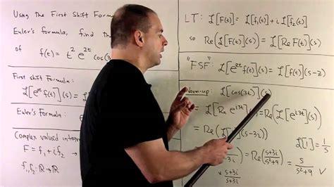 Laplace Transform Of F(t) = T^2 E^{2t} Cos(3t)