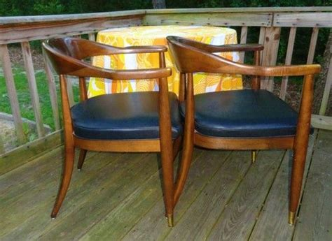 boling chair company office chair vtg mid century modern walnut boling chair co desk