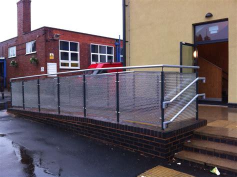 Birmingham Schools Balustrade   Morris Fabrications Ltd