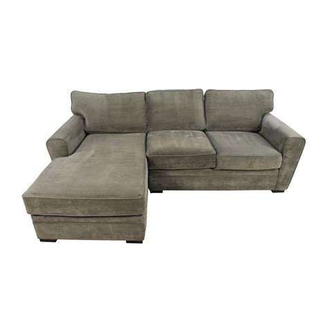 raymour and flanigan grey sectional sofa sectionals used sectionals for sale
