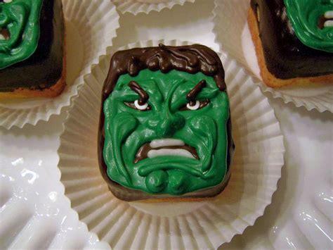 oven lovin  hulk cupcakes