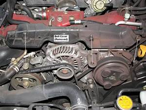 Replacing Accessory Belts On A Subaru Impreza