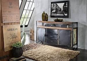 Kommode Industrial Style : sideboard industrial altholz massivmoebel24 blog ~ Markanthonyermac.com Haus und Dekorationen