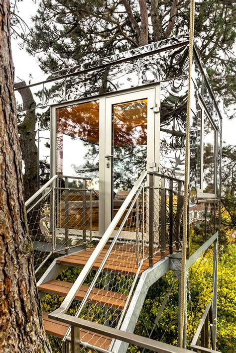 Modern treehouse design hidden beautifully in plain sight
