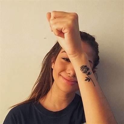 Tattoos Tattoo Wrist Side Rose Tatuagem Thorn