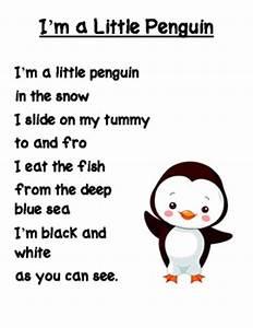 I m a Little Penguin Poem free printable