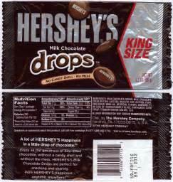 Hershey Bar Wrapper Dimensions
