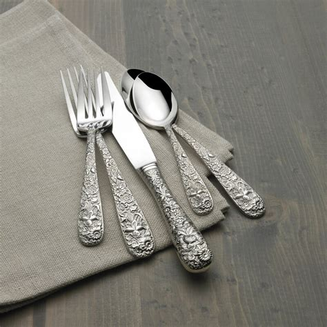 stainless flatware steel contessina piece service towle silversmiths number part