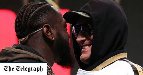 Tyson Fury: I'm not paying Deontay Wilder to step aside ...