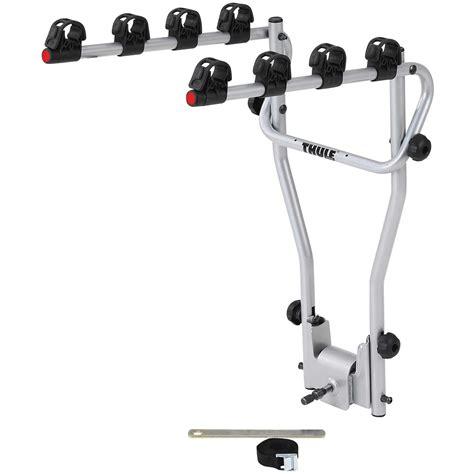 porte 4 velo thule thule 9708 hang on 4 bike rack cycle carrier tow bar mounted ebay