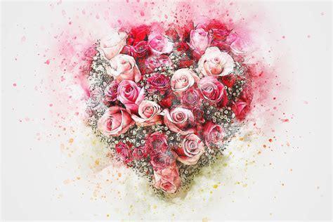contoh lukisan bunga mawar indah jual poster  juragan