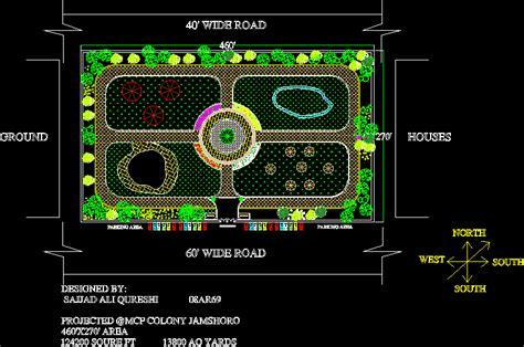 park dwg block  autocad designs cad