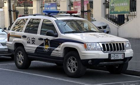 police jeep cherokee jeep grand cherokee used by shanghai police photo by swat