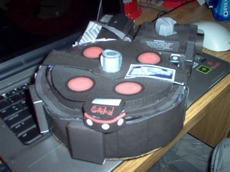 Paper Ghostbusters Proton Pack