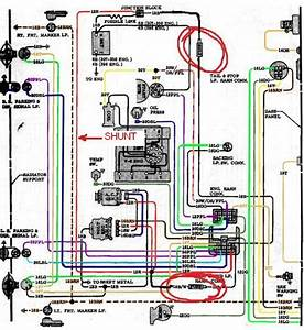 67-72 Non Gauge Dash Bezel Plug Wiring Diagram - The 1947