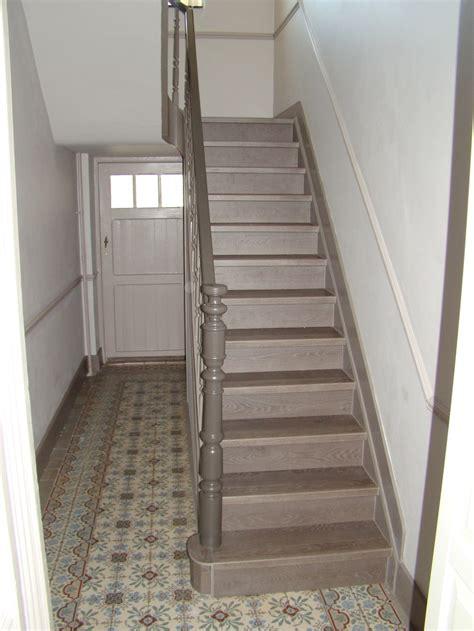renovation cage descalier  escalier pinterest