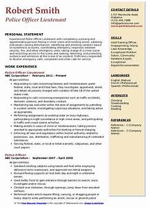 resume knowledge and skills police officer resume samples qwikresume